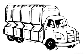 100 Truck Images Clip Art Best Free Moving Art Black And White Free Vector