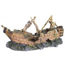 large shipwreck ornament ornaments fish tank ornaments