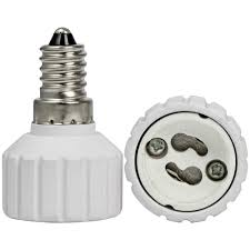 mengsled â mengsâ e14 to gu10 led light bulb l socket adaptor
