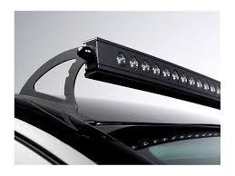 putco silverado luminix 50 in curved led light bar roof mounting