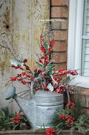 Must Do This On The Front Porch For Christmas And Leave Through Winter Love Idea Already Have Can
