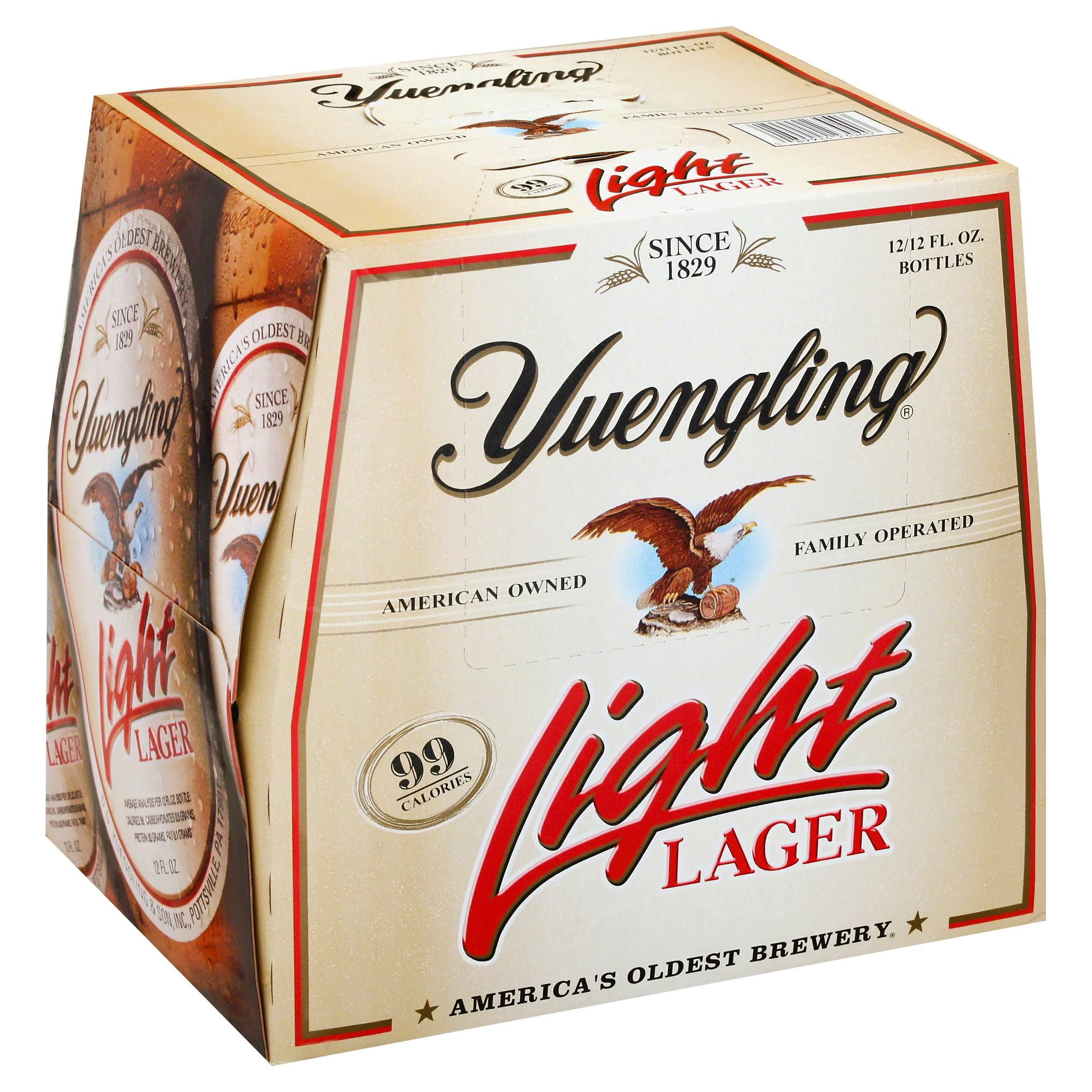 Yuengling Lager Light