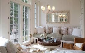 modern rectangular light blue white coffee table beige floral