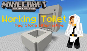 Minecraft Pocket Edition Bathroom Ideas by Minecraft Toilet Minecraft Toilet It Flushes Youtube How To Make