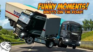 100 Funny Truck Pics Euro Simulator 2 Multiplayer Moments Crash Compilation