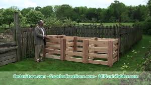 Renoir's Red Cedar 3-Compartment Compost Bin With Derek Fell - YouTube Backyard Compost Bin Patterns Choosing A Food First Nl Amazoncom Garden Gourmet 82 Gallon Recycled Plastic Vermicoposting From My How To Make Low Cost Compost Bin For Your Garden Yard Waste This Is Made From Landscaping Bricks I Left Spaces Wooden Bins Setting Stock Photo 297135617 25 Trending Ideas On Pinterest Pallet Root Cellars Rock Diy Shop Amazoncomoutdoor Composting Backyards As And