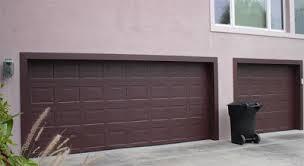 Garage Door Painted Like Patina Copper