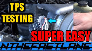 100 1994 Mazda Truck TPS Test Replace Ford Ranger BSeries YouTube