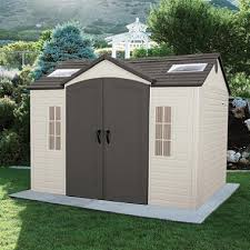 Wood Storage Sheds 10 X 20 by Lifetime 10 U0027 8 U0027 Outdoor Storage Shed Sam U0027s Club