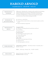 Unforgettable Administrative Assistant Resume Examples To Stand Out ...