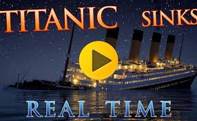Titanic Sinking Simulation Real Time by 100 Minecraft Titanic Sinking Movie November 21 1916 A
