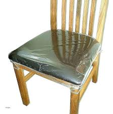 Dining Room Chair Cover Marvelous Plastic Covers Vinyl Seat Luxury For Chairs Clear Walmart