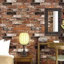 beibehang geprägte 3d ziegel wand papier moderne vintage ziegel stein muster papier tapete rolle für wohnzimmer wand abdeckt