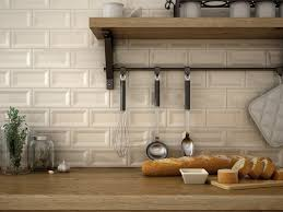 Beveled Tile Inside Corners by Inverted Beveled Wall Tiles Perfect For Kitchens In Beige From