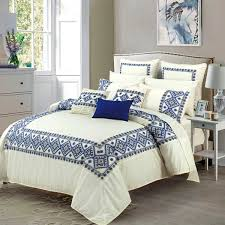 Bed Linen Embroidery Designs