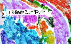 Art Activity With Salt2