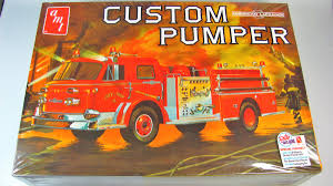 American LaFrance Pumper Fire Truck - AMT | Car-model-kit.com