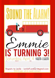 Emma Ramey's Firetruck 3rd Birthday Party | Lamberts Lately