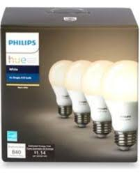 winter savings on philips hue 4 pack 60 watt equivalent a19 smart