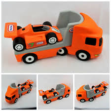 COLLECTABLE RARE VINTAGE LITTLE TIKES CAR TRANSPORTER WITH RACING ... Little Tikes North Coast Racing Systems Semi Truck With 7 Big Car Carrier Walmartcom Legearyfinds Page 414 Of 809 Awesome Hot Rods And Muscle Cars Find More For Sale At Up To 90 Off Hippo Glow Speak Animal 50 Similar Items Cars 3 Toys Jackson Storm Hauler Price In Singapore Ride On Giraffe Uk Black Limoesaustintxcom Preschool Pretend Play Hobbies Toy Graypurple Rare Htf For Sale Classifieds Vintage Toddle Tots Cute