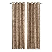 J Queen Kingsbridge Curtains by Alessandra Floral Pole Pocket Blackout Drape 50 X 108 U0027 By