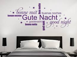 wandtattoo wandsticker wandaufkleber schlafzimmer gute nacht