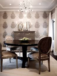 Astonishing Decoration Wallpaper For Dining Room Exclusive Idea Ideas