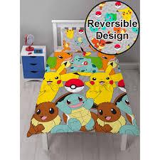 Pokémon Duvet Sets and Pikachu Bedding and Curtains