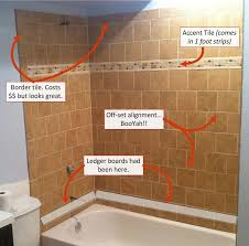 beautiful laying tile in shower 6 secrets for who want