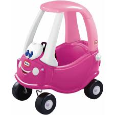 Little Tikes Princess Cozy Coupe Ride-On, Dark Pink - Walmart.com