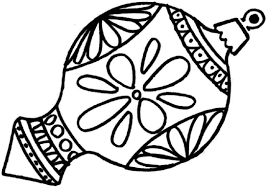 Adult Coloring Pages Christmas Ornaments Free In