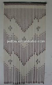 Doorway Beaded Curtains Wood by Hanging Door Wooden Beads Curtain Hanging Door Wooden Beads