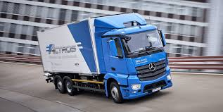 A First Look At Mercedes-Benz's Latest All-electric Truck: The ...