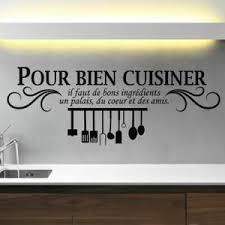 citation sur la cuisine stickers amour en cuisine citations affirmation