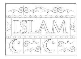 Islam Poster For Kids To Colour In Explore Our Colouring Pages Children At IChild Find Plenty Of Free Worksheets Too