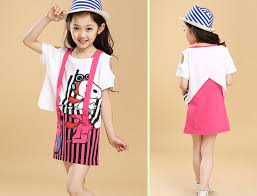 High Quality Cotton Girls Dresses Summer 2015 Cartoon Mouse Teenage Fashion Dress 2 16 Years Children S Wear 1200 In From Mother