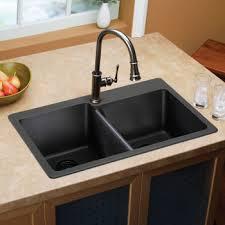 costco elkay e granite double bowl sink kitchen remodel