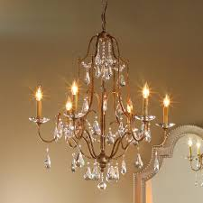 Destinations By Regina Andrew Peacock Lamp by Elegance Crystal Swag Chandelier 6 Light Swag Chandeliers And