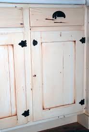 Distressed Cabinet Door Farmhouse Kitchen Denver by Jordan