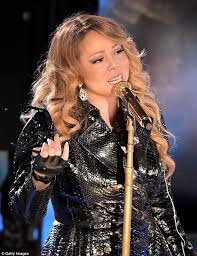 Nbc Christmas Tree Lighting 2014 Mariah Carey by Mariah Carey Takes The Stage At The Rockefeller Center Daily
