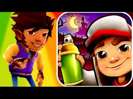 Subway Surfers Halloween Download Free by Werewolf Mike And Phantom Board Subway Surfers Halloween Edition