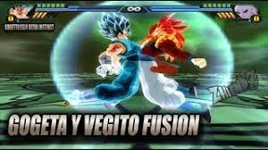 Gogeta SSJ4 And Vegito Ultra Instinct Fusion