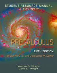 Student Resource Manual To Accompany Precalculus With Calculus Previews