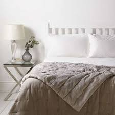 BuyJohn Lewis Croft Collection Linen Velvet Bedspread L200 X W150cm Online At Johnlewis