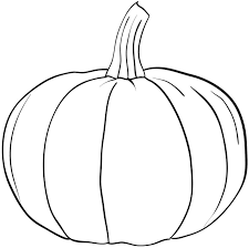 Clever Pumpkin Coloring Page Pages