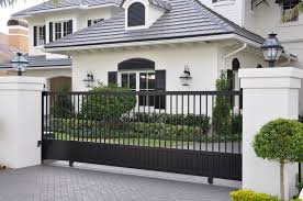 Driveway Gates - Google Search | Landscaping | Pinterest | Gates ... Front Doors Gorgeous Door Gate Design For Modern Home Plan Of Iron Fence Best Tremendous Rod Gates 12538 Exterior Awesome Entrance And Decoration Using Light Clever Designs Homes Homesfeed Hot Simple In Kerala Addition To Firstrate 1000 Ideas Stesyllabus Concrete Driveway Automatic Openers With