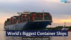 100 Shipping Container Shipping Top 10 Biggest Ship In The World 2019