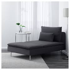 söderhamn chaise longue samsta dark grey ikea
