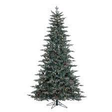 75 Flocked Christmas Tree by Flocked Christmas Trees You U0027ll Love Wayfair Ca