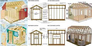 Livestock Loafing Shed Plans by 13 16 Loafing Shed Plans U2013 Build Your Own Run In Shed